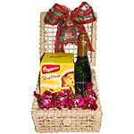 Classic Christmas Memento Morning Start Hamper