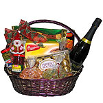 Jolly Good the Snowman Gift Basket for Christmas