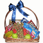 Fruits and Chocolates Basket