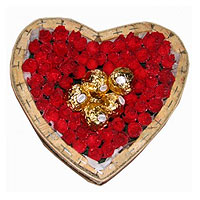 Heart of Roses and Chocolates